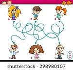 cartoon illustration of... | Shutterstock . vector #298980107