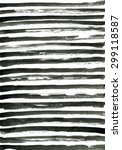 Small photo of Black ink abstract horizontal stripes background. Hand drawn lines. Ink illustration. Simple striped background.