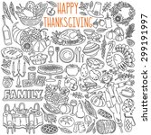 Thanksgiving Doodles Set....