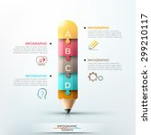 modern infographic template... | Shutterstock .eps vector #299210117