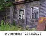 Old Russian Chopped Hut Which...