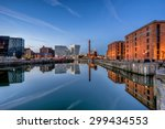 Albert Dock Complex In Liverpool