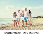 summer  holidays  sea  tourism... | Shutterstock . vector #299450693