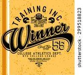 american football season...   Shutterstock .eps vector #299518823