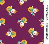 snowman flat icon  eps10... | Shutterstock .eps vector #299595317
