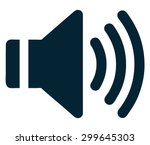 sound icon  vector illustration....