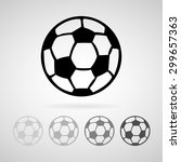 football icon great for any use.... | Shutterstock .eps vector #299657363