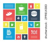 cafe icons universal set for... | Shutterstock . vector #299814383
