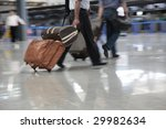bags at the airport  motion blur | Shutterstock . vector #29982634