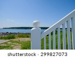 White Wooden Railing Of The...