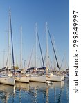 Small photo of ATHENS, GREECE JULY 24 2015: Yachts in Alimos marina in Athens, Greece on July 24, 2015.