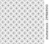 seamless geometric pattern...   Shutterstock .eps vector #299869043