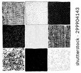 Set Of 9 Hand Drawn Textures...
