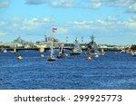 saint petersburg  russia   july ... | Shutterstock . vector #299925773