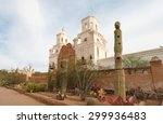 Mission San Xavier Del Bac And...