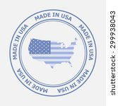 made in united states of... | Shutterstock .eps vector #299938043