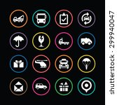 delivery icons universal set... | Shutterstock . vector #299940047