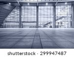 Empty Walkway In Front Of The...
