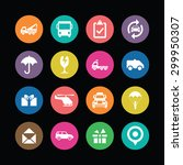delivery icons universal set... | Shutterstock . vector #299950307