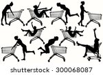 Girls With Shopping Cart...
