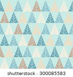 vector seamless pattern with... | Shutterstock .eps vector #300085583