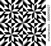 seamless star pattern. vector... | Shutterstock .eps vector #300095027
