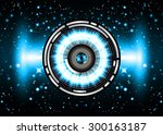 dark blue color light abstract...   Shutterstock .eps vector #300163187
