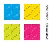 reflex hammer icon. doctor... | Shutterstock .eps vector #300237023