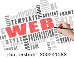 website concept words written...