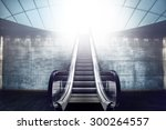 Escalator Staircase And Exit T...