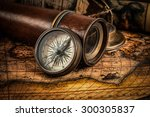 travel geography navigation... | Shutterstock . vector #300305837