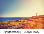 View On Old Lighthouse Near A...