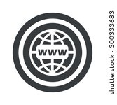 image of globe with text www in ...