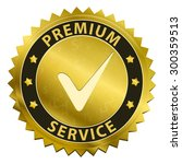 premium service and support... | Shutterstock .eps vector #300359513