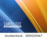 blue abstract background | Shutterstock .eps vector #300420467
