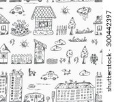 vector seamless pattern of...   Shutterstock .eps vector #300442397