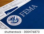 Small photo of FEMA US Homeland Security Citizen and Immigration Services Flyer Closeup