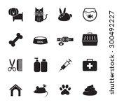 veterinary icon | Shutterstock .eps vector #300492227