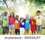 children friendship...   Shutterstock . vector #300534197