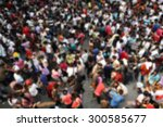 blur abstract people background | Shutterstock . vector #300585677
