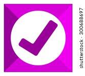 tick icon   Shutterstock .eps vector #300688697