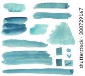 watercolor abstract sketch... | Shutterstock . vector #300729167