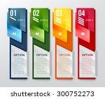infographic banner. vertical... | Shutterstock .eps vector #300752273