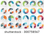 vector circle arrows... | Shutterstock .eps vector #300758567