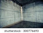 empty urban concrete background ... | Shutterstock . vector #300776693