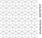 geometric seamless pattern | Shutterstock .eps vector #300787937