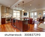 state of the art kitchen with... | Shutterstock . vector #300837293