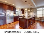 state of the art kitchen with... | Shutterstock . vector #300837317