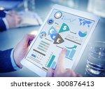 finance financial business... | Shutterstock . vector #300876413
