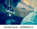closeup some part of vintage... | Shutterstock . vector #300886913